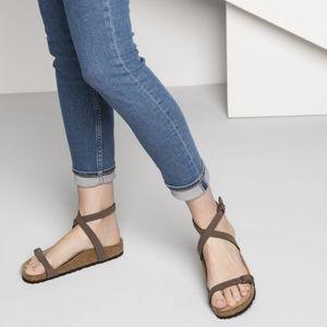 Birkenstock Daloa Birkibuc Ankle Strap Sandals 36
